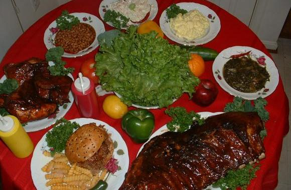 Bbq caterer for Side dishes for bbq ribs and chicken