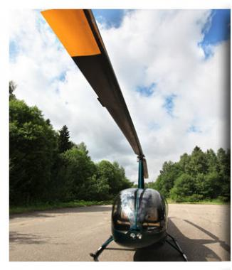 Experience the thrill of helicopter flight!