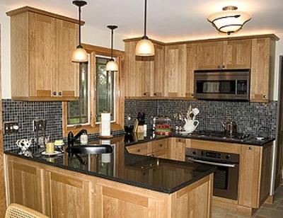 Granite kitchen countertops porcelain tiles for Cheap kitchen cabinets rochester ny