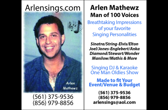 Arlen Mathewz - The Man of 100 Voices