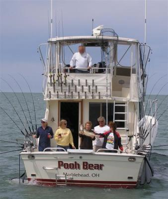 Lake erie fishing charter for Port clinton fishing charters