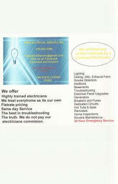 CM Electrical Service, Inc.