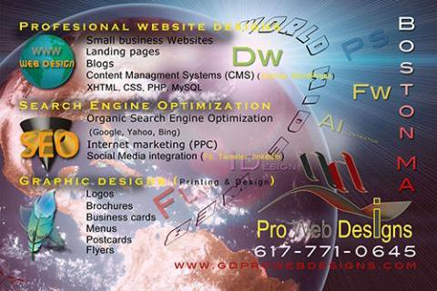 Professional Web and Graphic Designs that work
