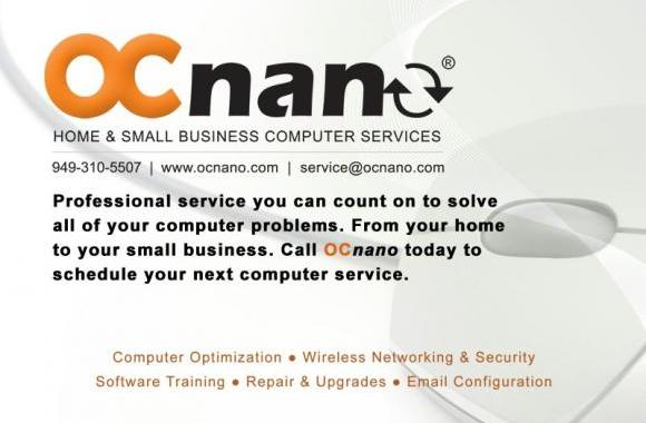 OC Nano is the #1 rated computer and networking service provider in Orange County, California. We love what we do!