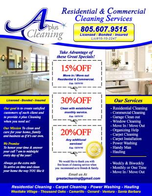 Residential Amp Commercial Cleaning Services
