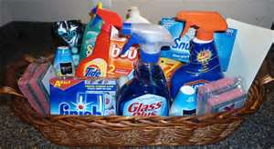 These are some of the cleaning product that we use or we can use what you have.