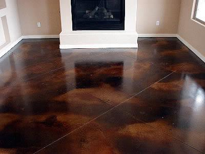 Acid Stain Design Services