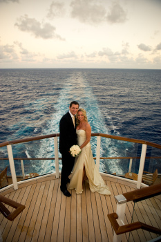 Norwegian cruise ship wedding
