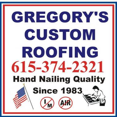 Gregory's Custom Roofing