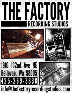 The Factory Recording Studios. Where the MAGIC happens!