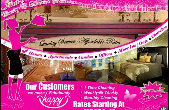 Isha's Cleaning & Maid Service
