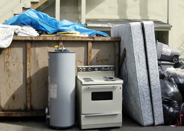 Free scrap metal pickup junk removal for Furniture movers seattle